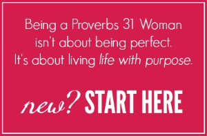 New to A Virtuous Woman? Start here.