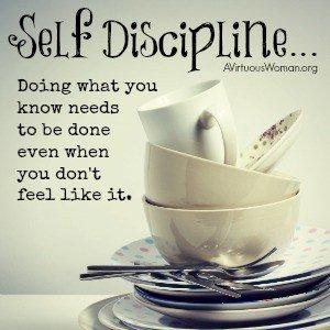 About Self-Discipline