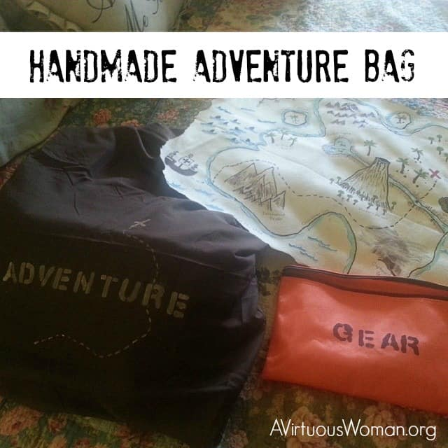 Handmade Adventure Bags for Girls and Boys @ AVirtuousWoman.org