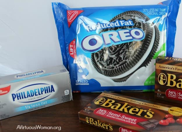 Easy, No Bake Oreo Truffles @ AVirtuousWoman.org