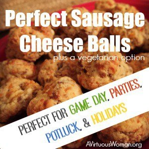 Sausage Cheese Balls with Cream Cheese
