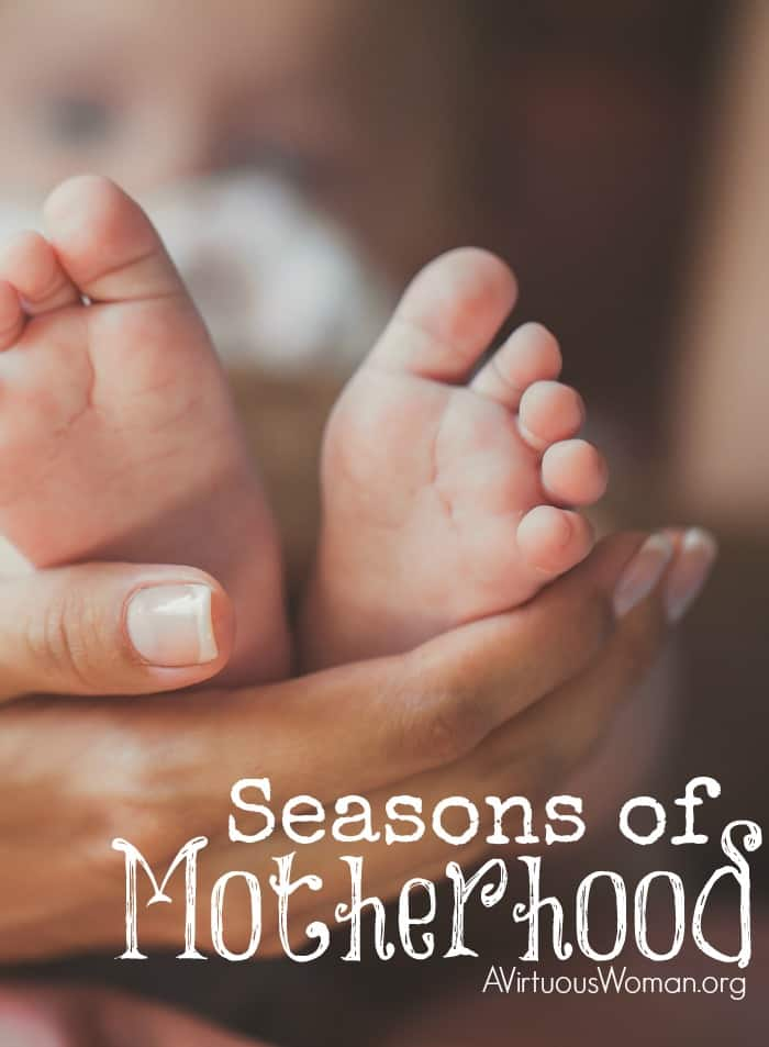 Seasons of Motherhood @ AVirtuousWoman.org