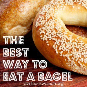 The BEST Way to Eat a Bagel