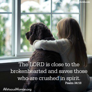 The Lord Comforts the Broken Hearted