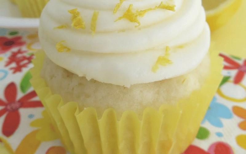 Lemon Cupcakes with Lemon Butter Cream