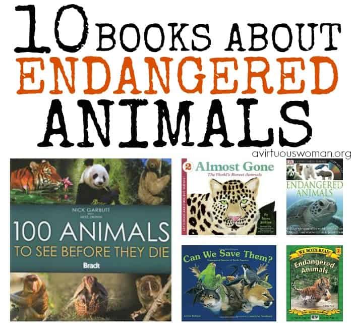 10 Books About Endangered Animals