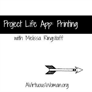 Project Life: App Printing