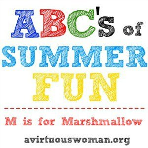 ABC's of Summer Fun {M is for Marshmallows}