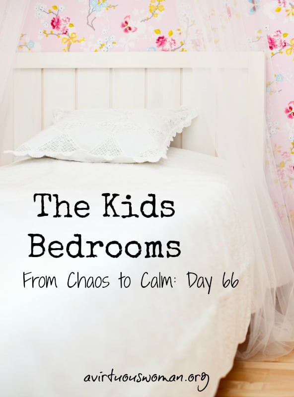 The Kids Bedrooms @ AVirtuousWoman.org