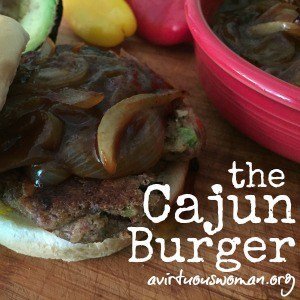 The Cajun Burger Topping + The New BUBBA Veggie Burger
