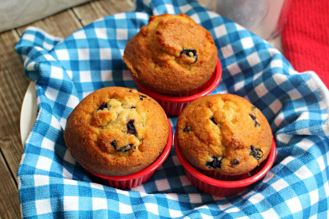 Nana's Blueberry Muffins