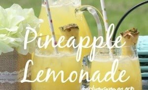 Pineapple Lemonade @ AVirtuousWoman.org