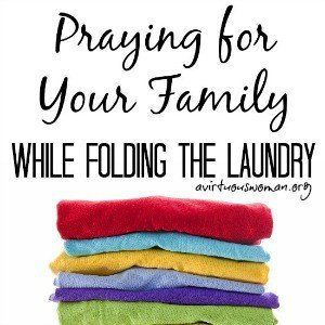 Prayer and Folding the Laundry
