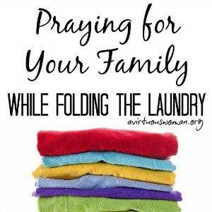 Prayer and Folding the Laundry