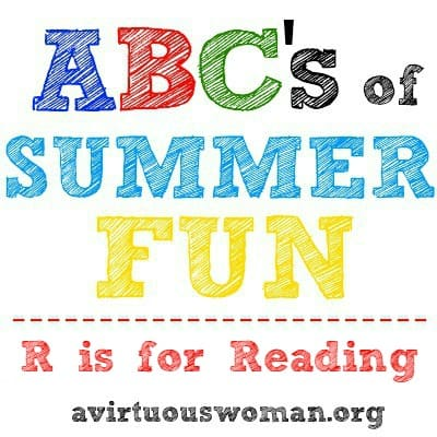 R is for Reading Challenge @ AVirtuousWoman.org