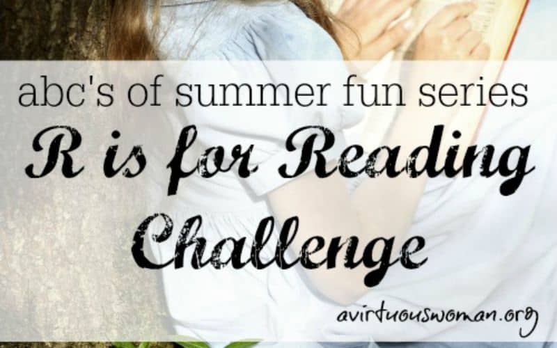 R is for Reading Challenge