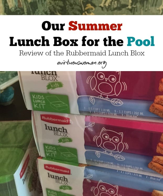 Our Summer Lunch Box for the Pool @ AVirtuousWoman.org