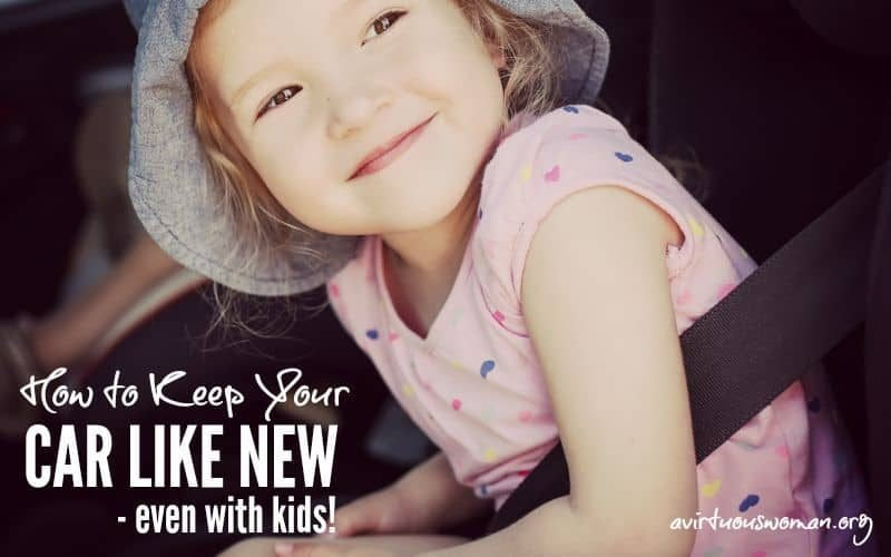 How to Keep Your Car Like New – Even With Kids!