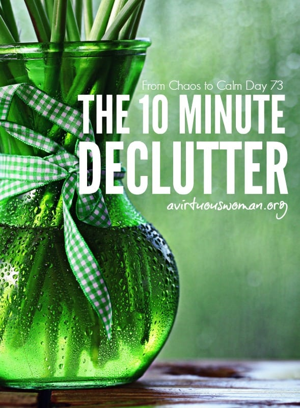 The 10 Minute Declutter