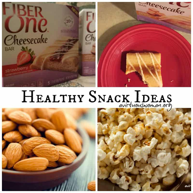 3 Healthy Snack Ideas @ AVirtuousWoman.org