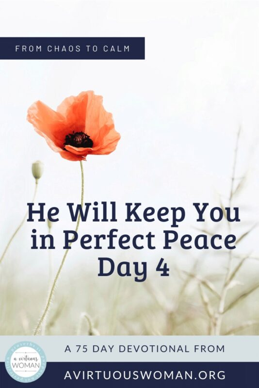 In Perfect Peace @ AVirtuousWoman.org