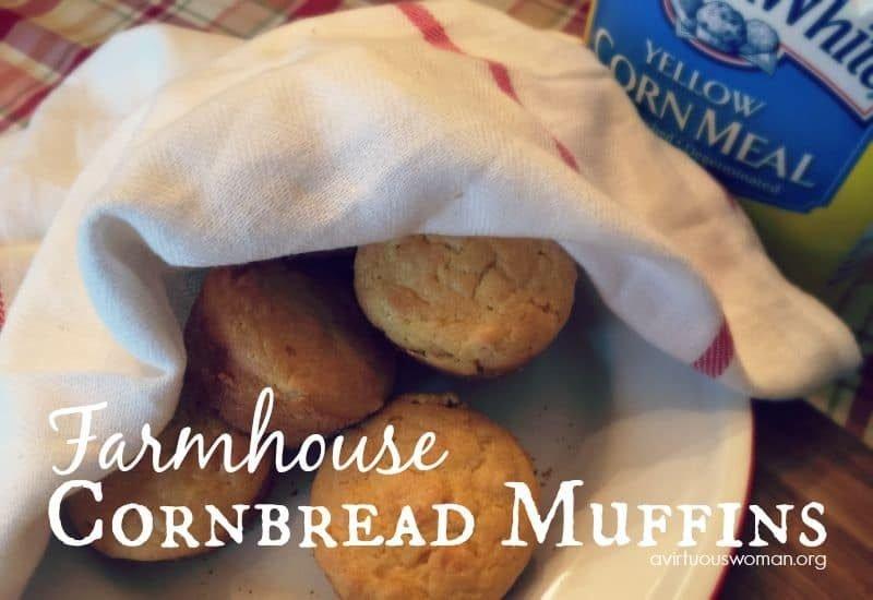 Farmhouse Cornbread Muffins