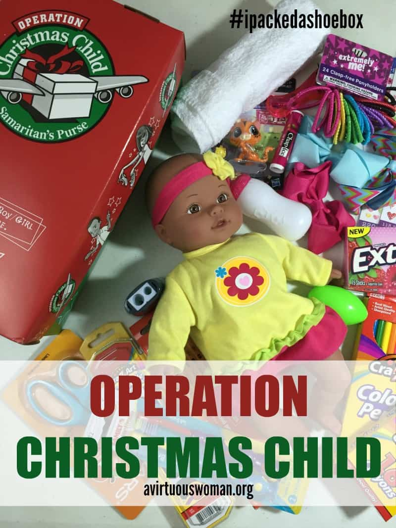 Operation Christmas Child - How to Pack a Shoebox @ AVirtuousWoman.org