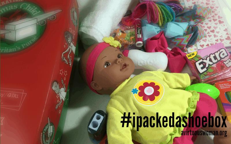 Operation Christmas Child #ipackedashoebox