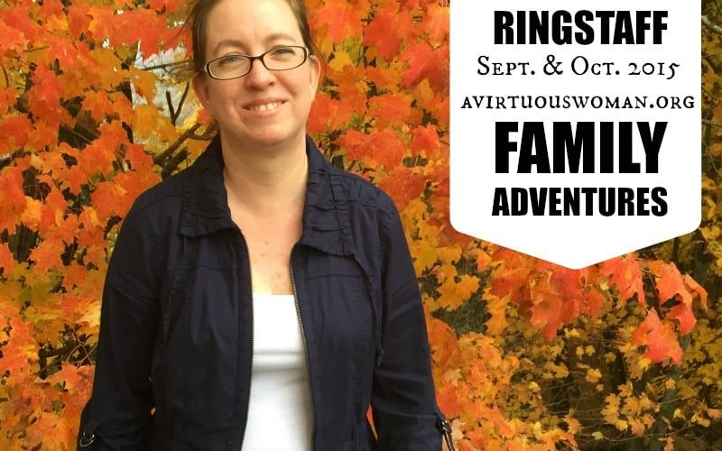 Ringstaff Family Adventures: Septmber & October 2015