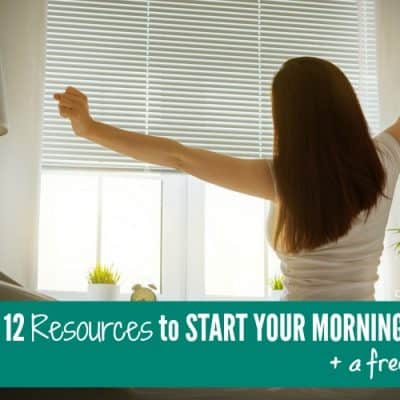 Start Your Morning Off Right + Free Printable