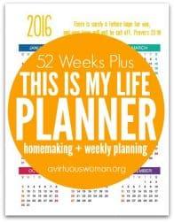 52 Weeks Plus Planner