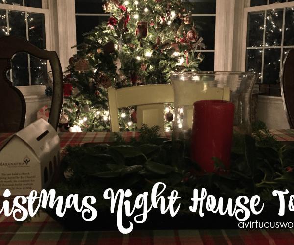 Christmas Night House Tour