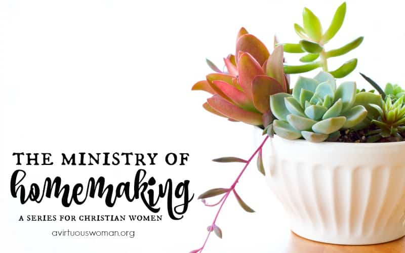 The Ministry of Homemaking {a series}