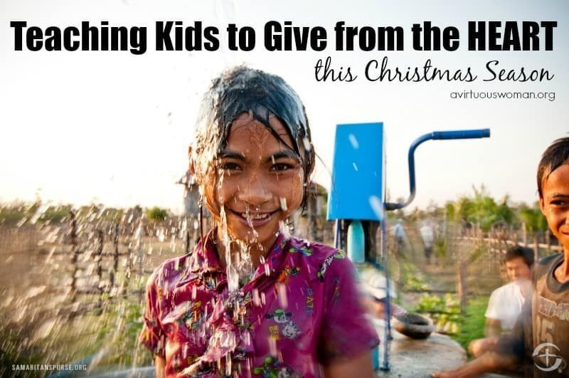 Teaching Kids to Give from the Heart