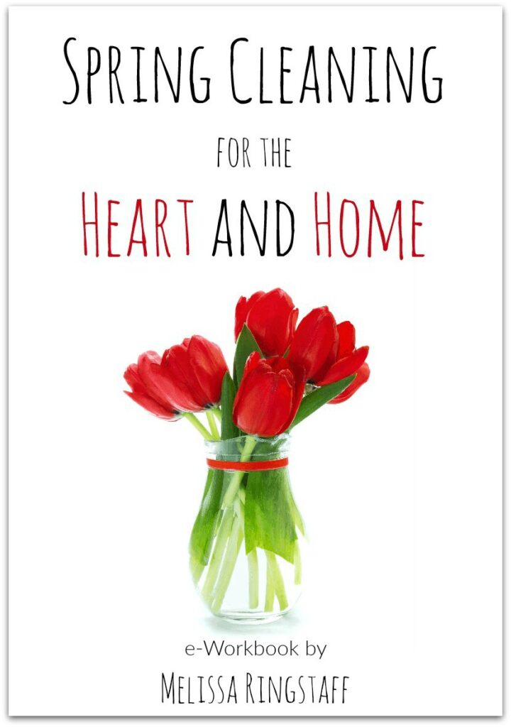 Spring Cleaning for the Heart and Home Challenge @ AVirtuousWoman.org