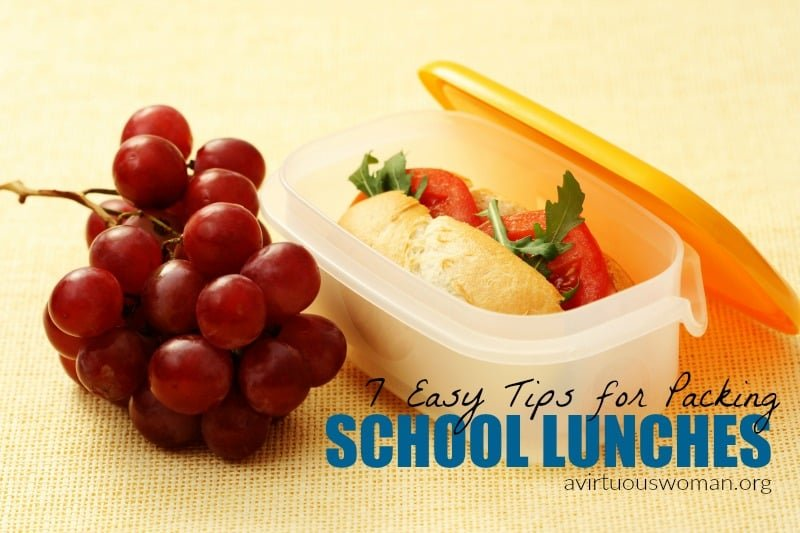 7 Tips for Packing School Lunches