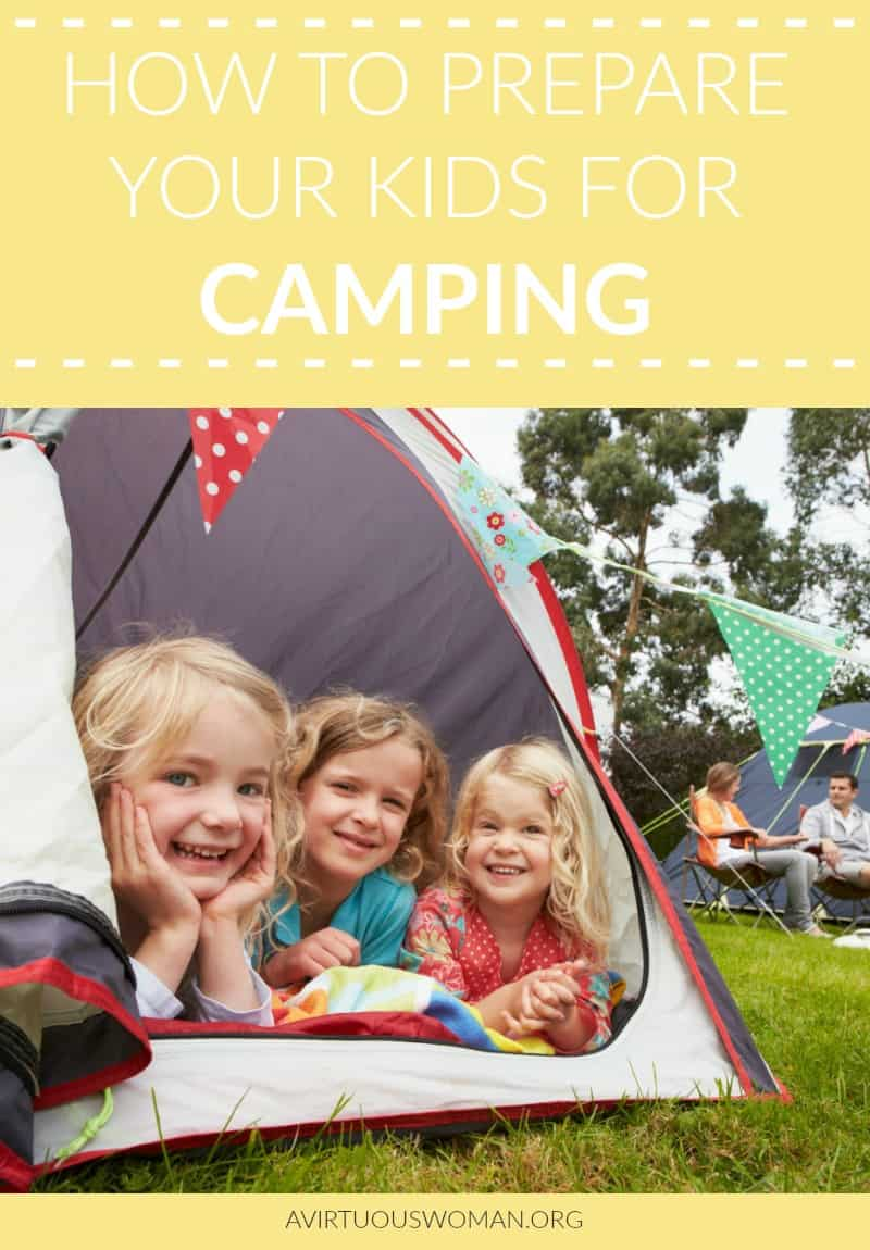 How to Prepare Your Kids for Camping