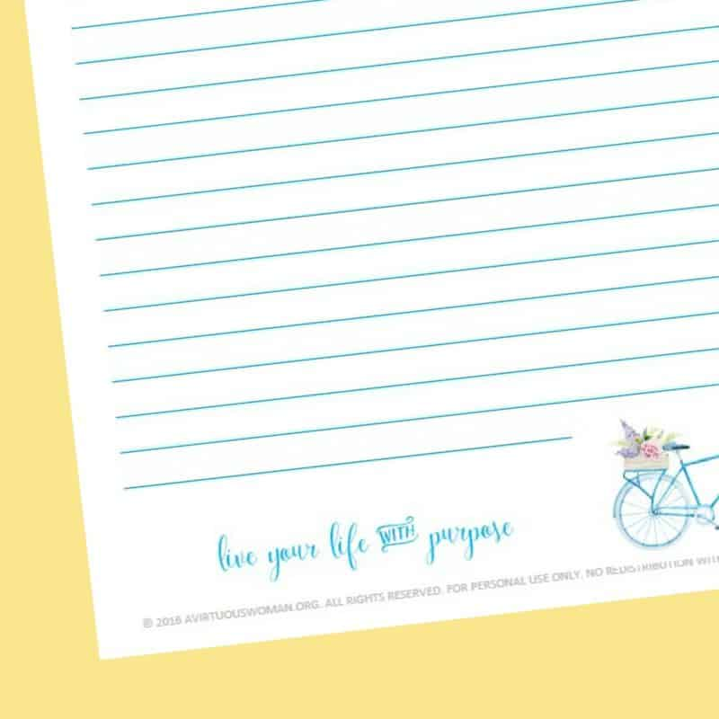 Free Printable Notebook Pages