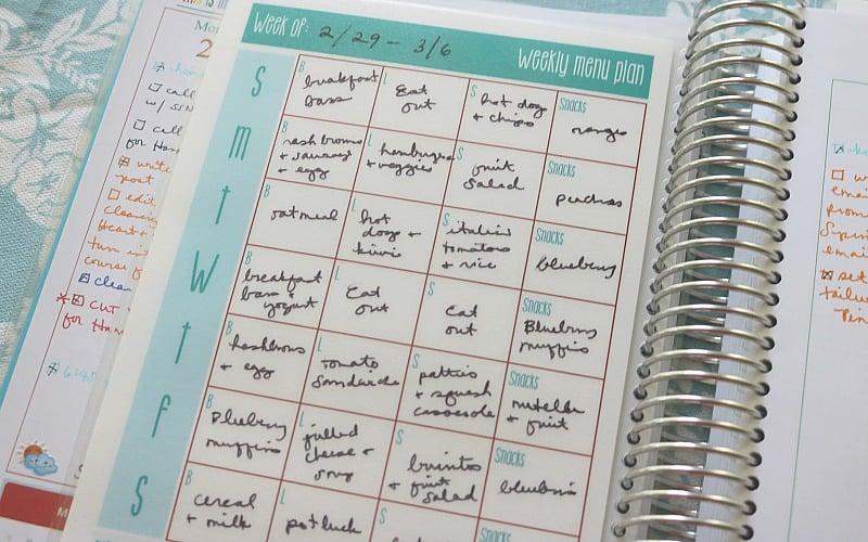 Laminated Dashboard: Homemaking Planner Insert @ AVirtuousWoman.org