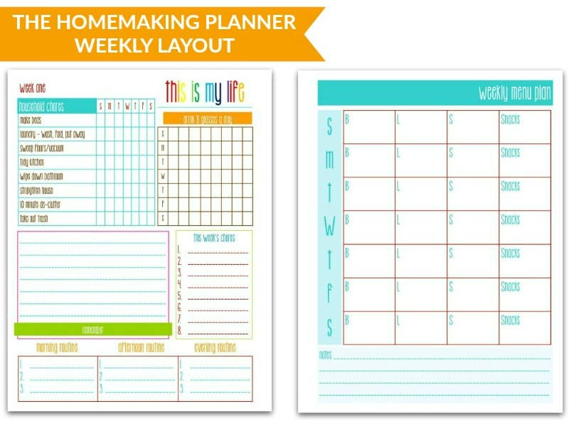 The Purpose 31 Homemaking Planner @ AVirtuousWoman.org