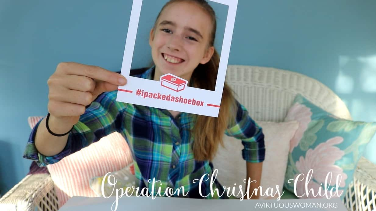 Operation Christmas Child @ AVirtuousWoman.org