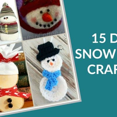 DIY Snowman Crafts