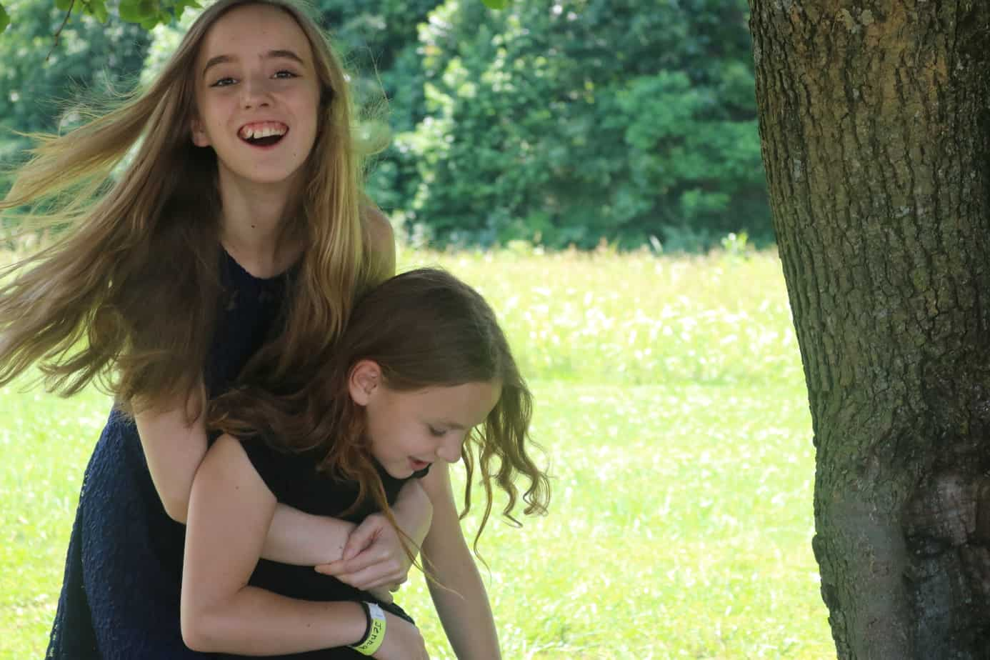 Laura and Jenna