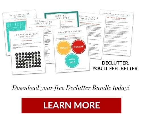 Declutter Bundle Kit @ AVirtuousWoman.org