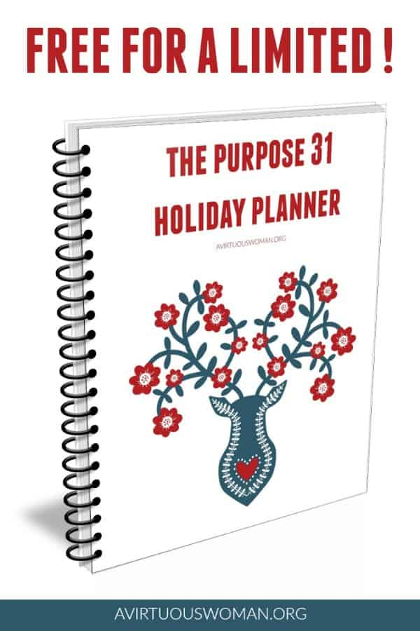 Holiday Planner Free for a Limited Time @ AVirtuousWoman.org