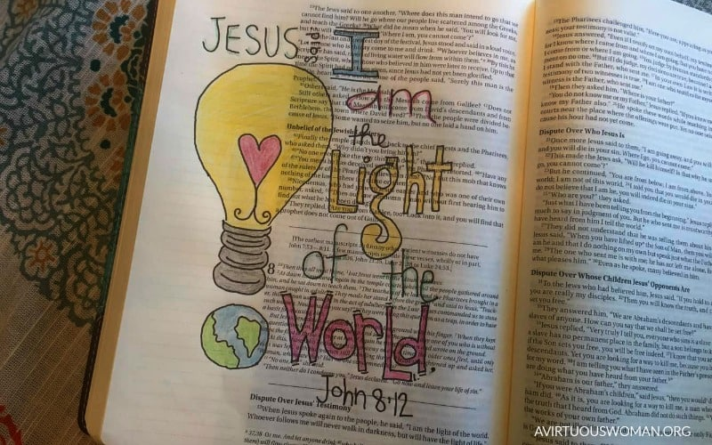 Getting Started with Bible Journaling | Coloring in My Bible