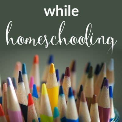 Get Organized While Homeschooling