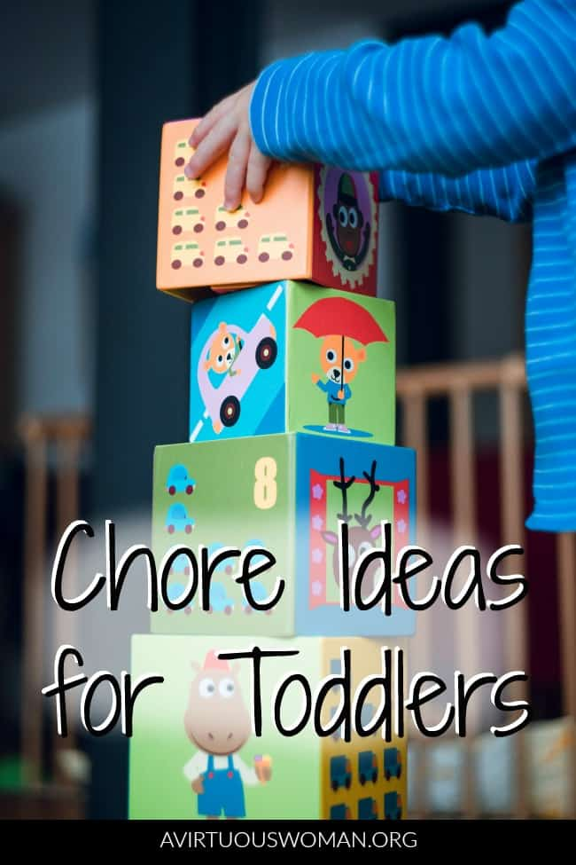 Chores for Toddlers @ AVirtuousWoman.org