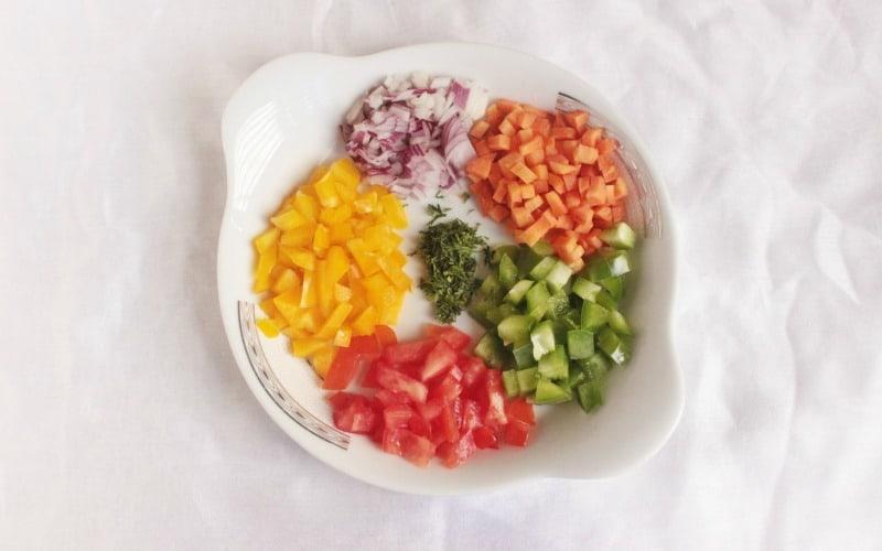 Vegetable Omelette Rings @ AVirtuousWoman.org