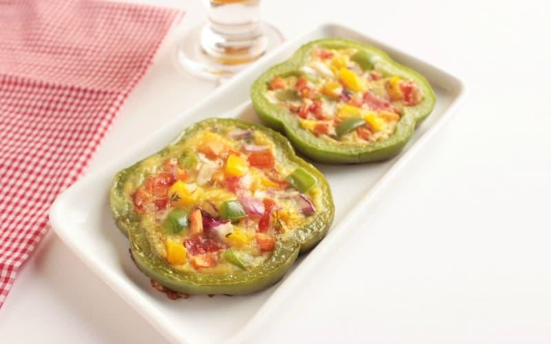 Vegetable Omelette Rings
